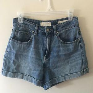 PacSun High-waisted Jean Shorts